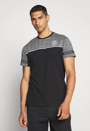 TENCH - T-shirt con stampa - black