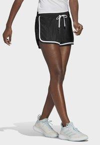 adidas Performance - CLUB SHORT - Urheilushortsit - black - 2
