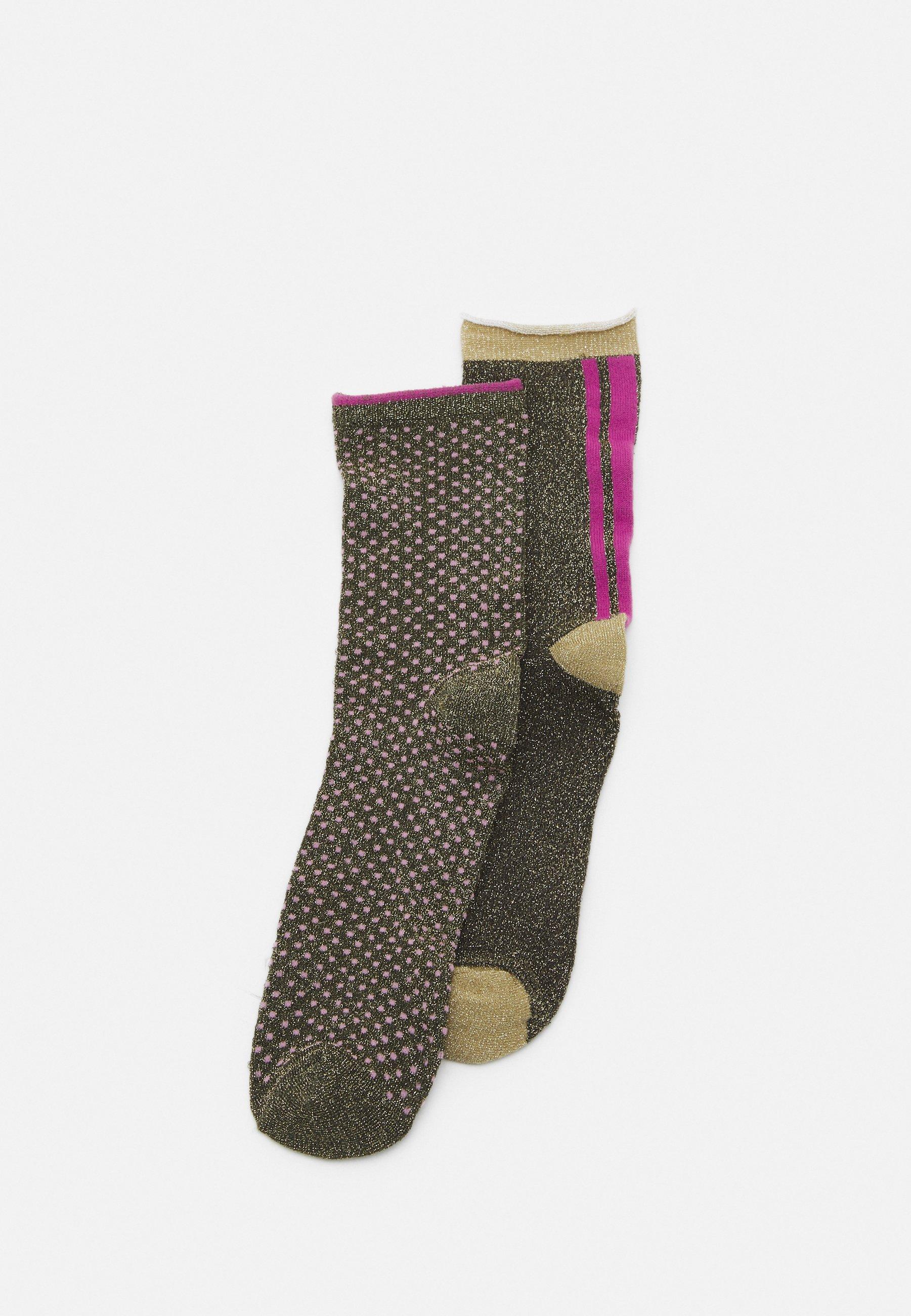 Women SHIMMER PASHA SOCK 2 PACK - Socks