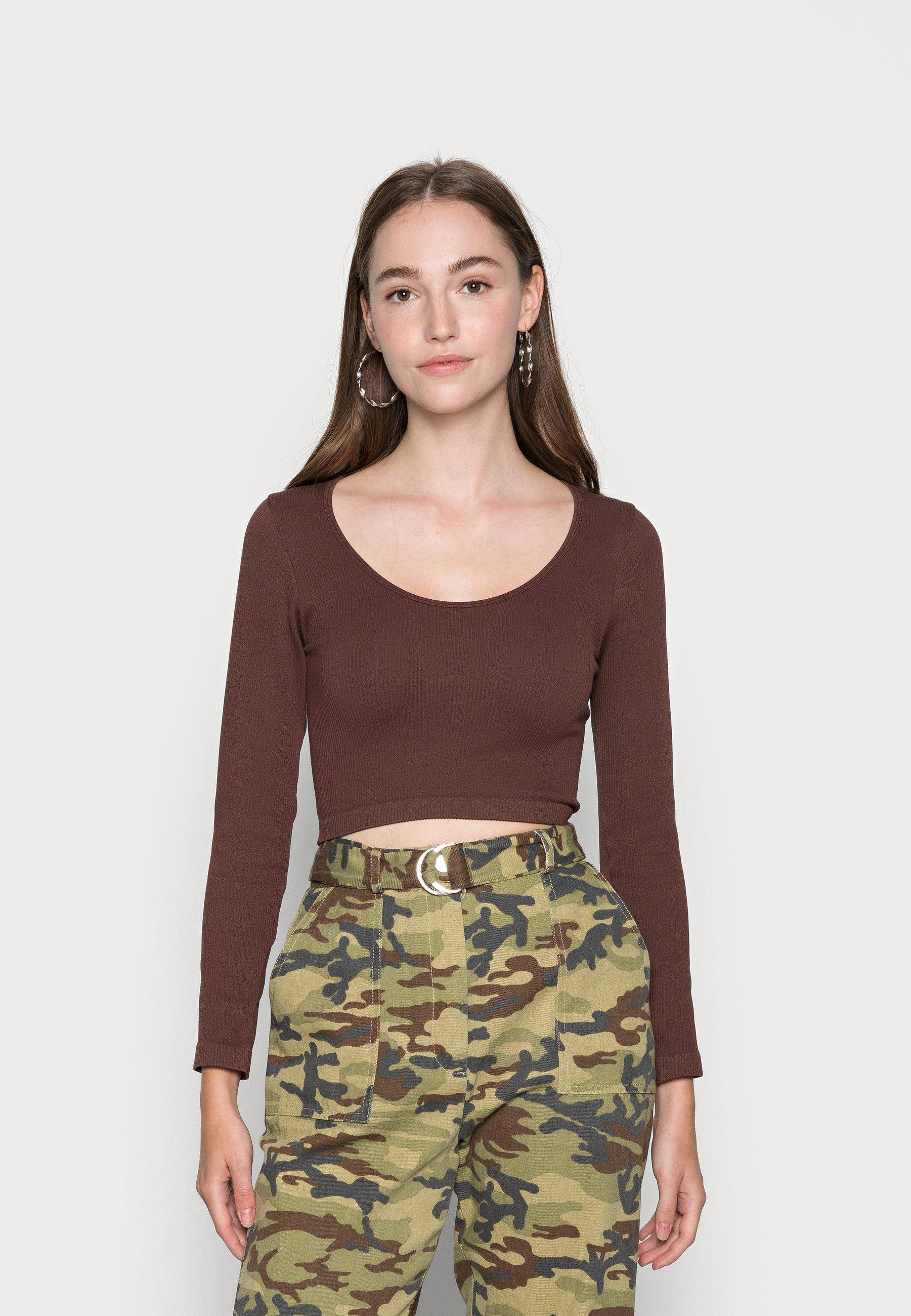 Donna ONLGWEN CROP - Maglietta a manica lunga