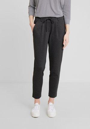 FIT PANTS ANKLE - Tracksuit bottoms - black/grey