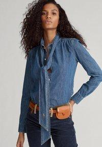 Polo Ralph Lauren - Button-down blouse - medium indigo - 0