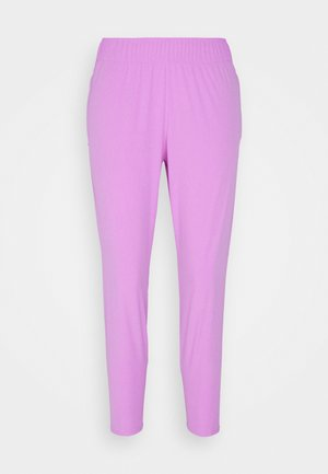 Tracksuit bottoms - fuchsia glow/silver