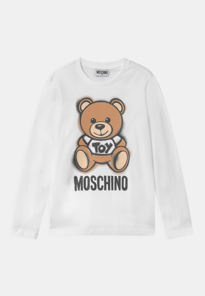 MOSCHINO - UNISEX - Long sleeved top - optic white