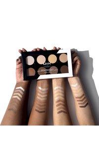 Nyx Professional Makeup - HIGHLIGHT & CONTOUR PRO PALETTE - Face palette - - - 2