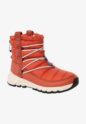 W THERMOBALL LACE UP - Mountain shoes - burnt ochre/tnf black