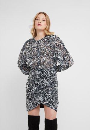 FENIAN - Denní šaty - black/white