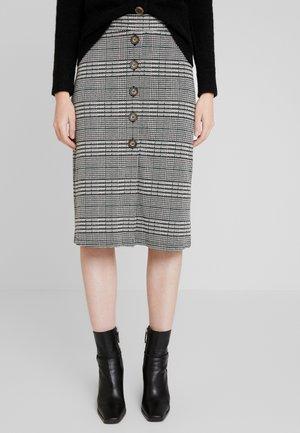 KAFIERA SKIRT - Pencil skirt - black deep