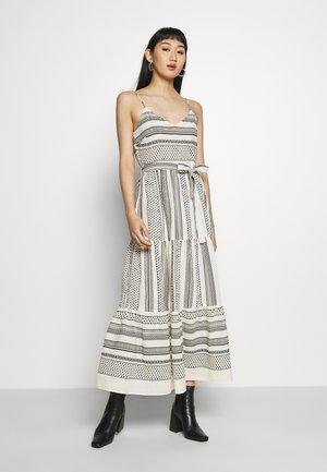 VMDICTHE SINGLET ANCLE DRESS - Maxi dress - birch/black