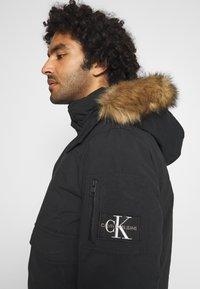 Calvin Klein Jeans - TRIMMED JACKET - Down jacket - black - 5