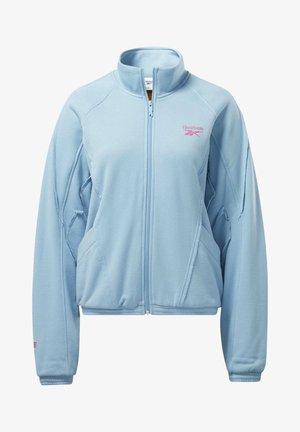 Zip-up hoodie - wild blue