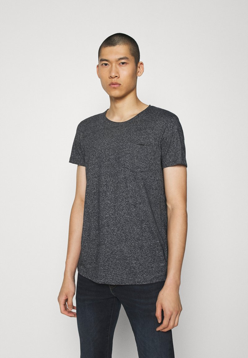 edc by Esprit - GRIND - T-shirt basic - anthracite