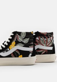 Vans - ANAHEIM SK8 38 DX UNISEX - High-top trainers - black/yellow/red - 5