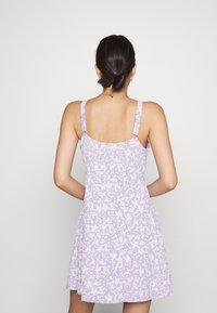 Cotton On - TURNER STRAPPY MINI DRESS - Jersey dress - lilac - 2