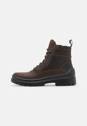 JAN  - Lace-up ankle boots - dark brown