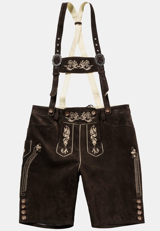 JP1880 Pantalon en cuir - braun