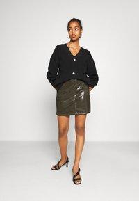 Molly Bracken - LADIES SKIRT - Mini skirt - khaki - 1