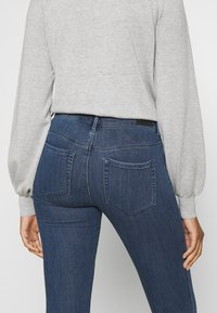 ONLY - ONLRAIN LIFE - Jeans Skinny Fit - dark blue denim - 5