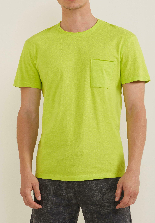 Herrer MIT BRUSTTASCHE - T-shirts basic