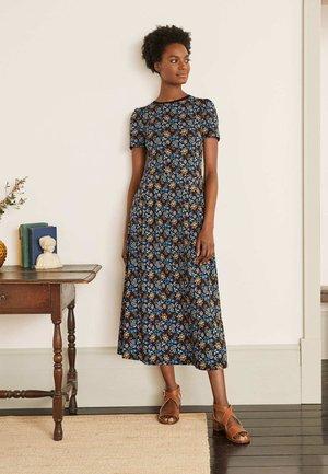 LUCINDA - Jersey dress - schwarz  sommerlicher chintz
