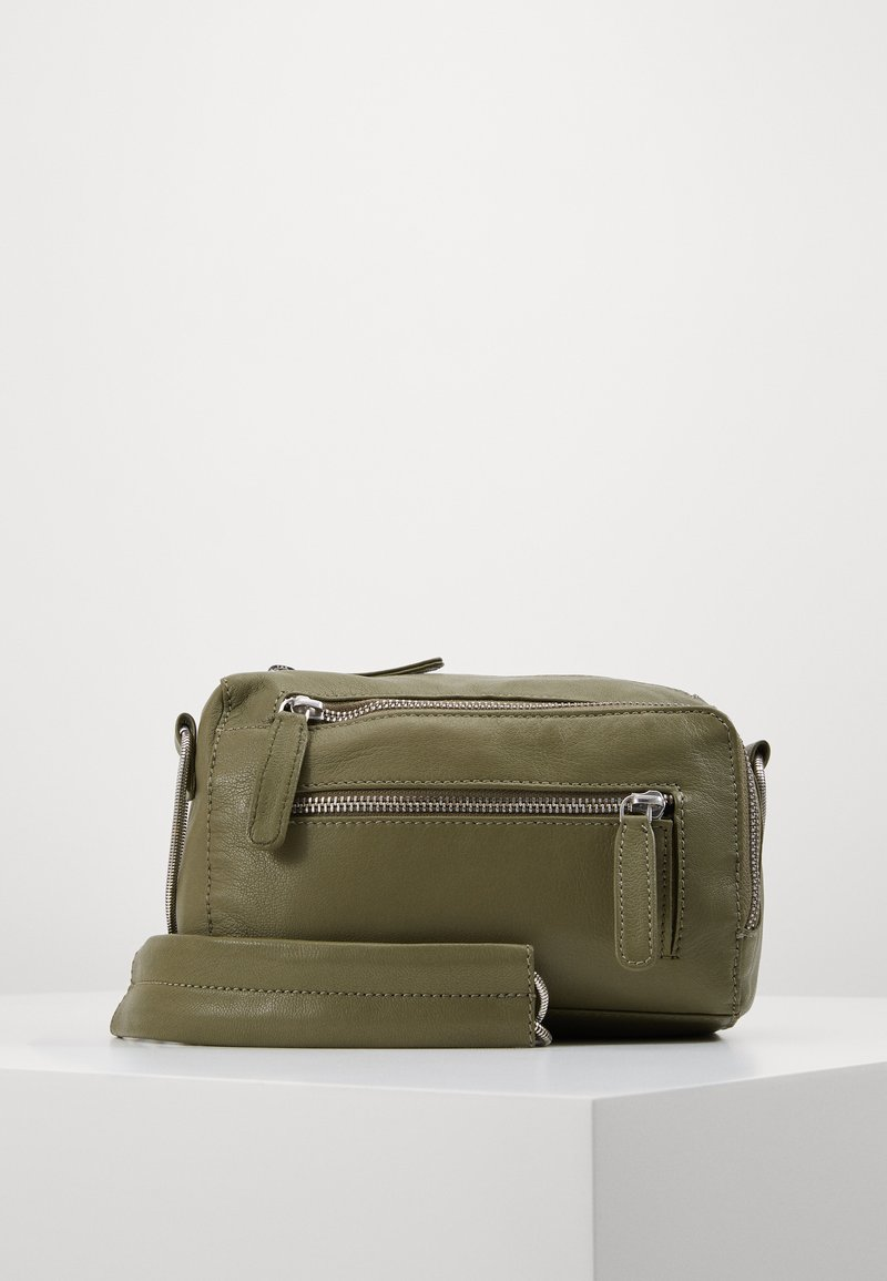 Object - OBJNETY CROSSOVER - Across body bag - burnt olive