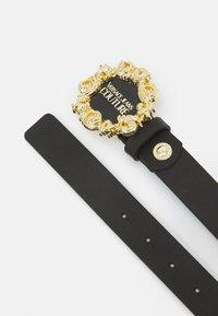 Versace Jeans Couture - VITELLO BELTS - Cintura - nero - 3