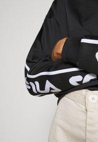 Fila - TALLIS CREW - Bluza - black - 5