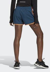 adidas Performance - Marathon 20 SHORT RESPONSE AEROREADY RUNNING REGULAR SHORTS - Urheilushortsit - wild teal/screaming orange - 2
