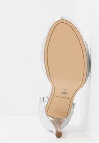 Tamaris - High heeled sandals - silver - 6