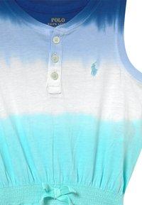 Polo Ralph Lauren - ONE PIECE ROMPER - Jumpsuit - blue ombre - 2