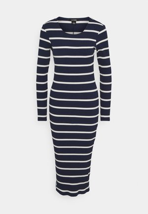 LI DRESS - Jersey dress - blue