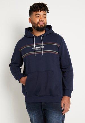 JJSHAKER HOOD  - Hoodie - navy blazer