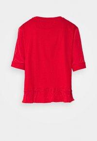 Marc Cain - Print T-shirt - cranberry - 1