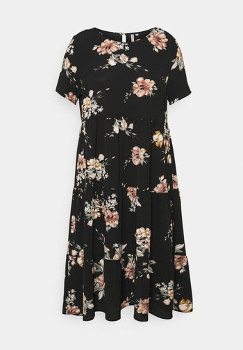 CARLUXCILLE SS MIDI DRESS  - Sukienka letnia - black