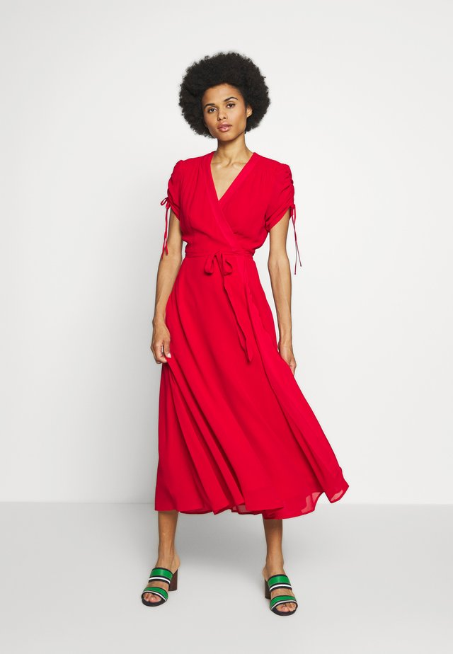 DRAPEY - Day dress - red
