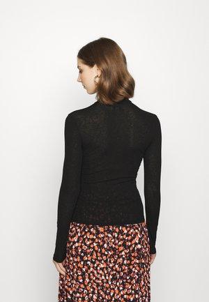 FUNNEL - Long sleeved top - black