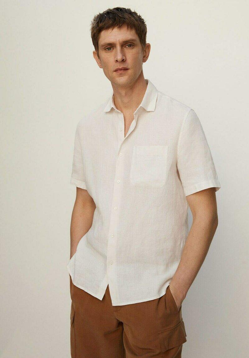 Mango - ANTS - Shirt - gebroken wit