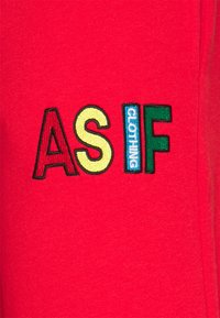 AS IF Clothing - BASIC UNISEX  - Tracksuit bottoms - red - 2