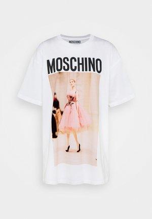 Print T-shirt - fantasy white