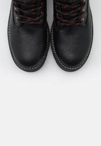 Coolway - HANZEL - Platform ankle boots - black - 5