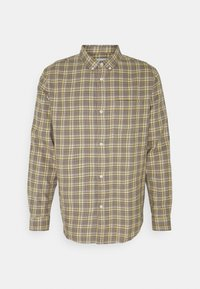 Weekday - MALCON CHECKED  - Shirt - beige - 0