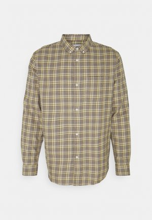 MALCON CHECKED  - Shirt - beige