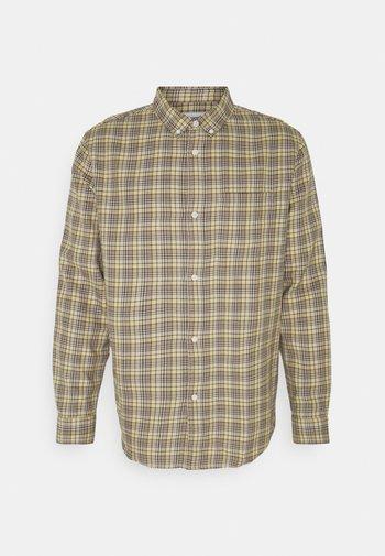 MALCON CHECKED  - Košile - beige