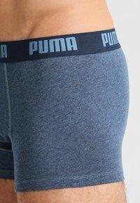 Puma - BASIC TRUNK 2 Pack - Culotte - blue - 3