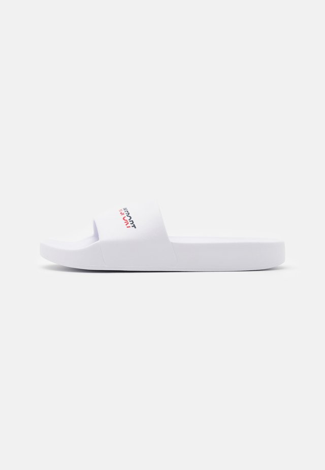 POOL SLIDE WOMEN 2 - Badslippers - white