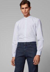 BOSS - ALBANY - Straight leg jeans - dark blue - 3