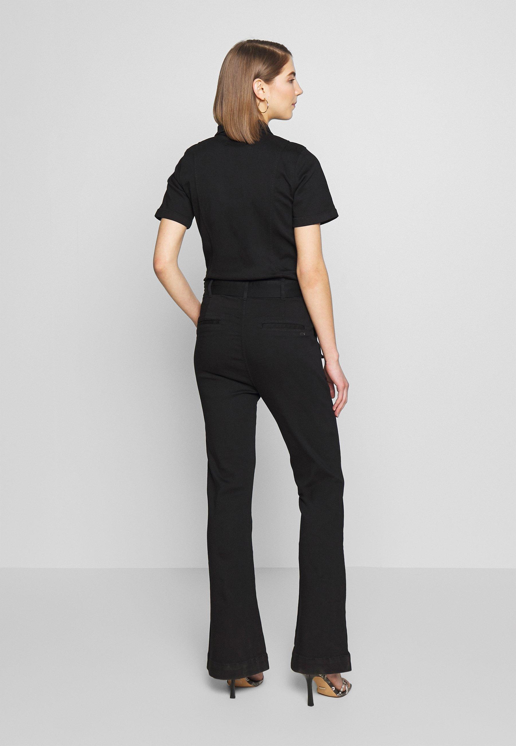 Ivy Copenhagen Charlotte Flare Tracksuit Cool - Jumpsuit Black