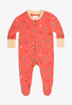 MINI CACTUS - Sleep suit - orange