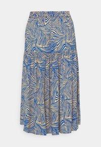 Vero Moda - VMGEA CALF SKIRT - A-line skirt - dazzling blue - 1