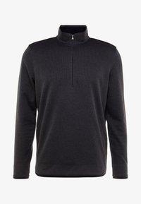 Under Armour - SWEATERFLEECE 1/2 ZIP - Sweatshirt - black - 3